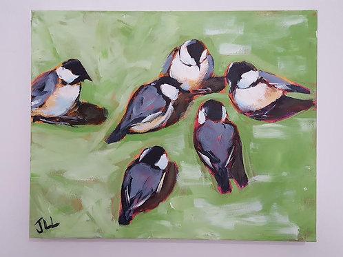 Chickadee Shindig by Jaime Lee Lightle