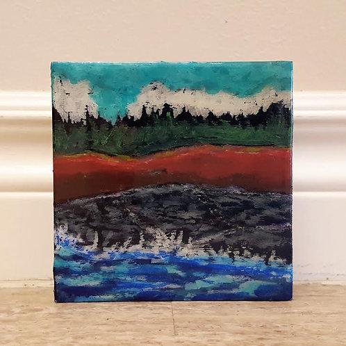 Surf on Basalt by James C E Lightle