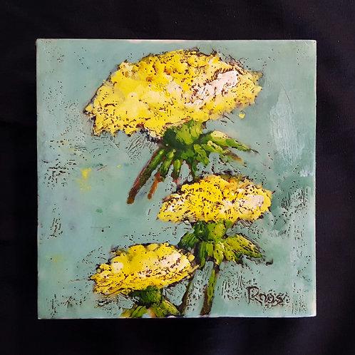 Dandelions by Lisa-Maj Roos