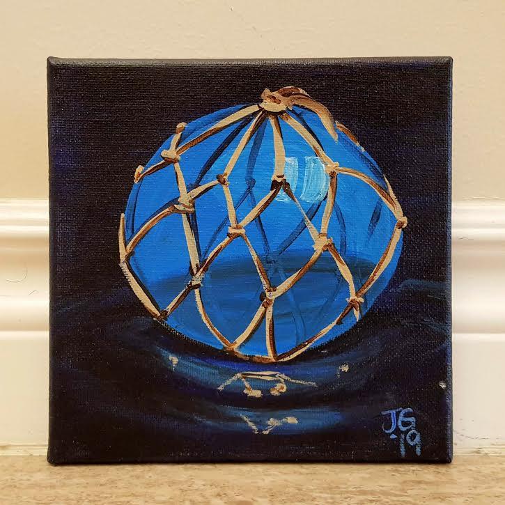 Glass Buoy (Blue)