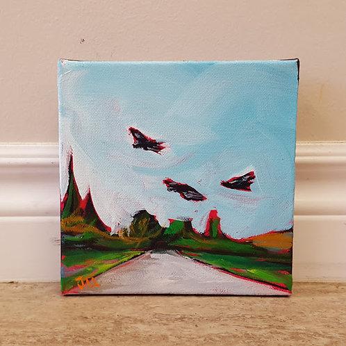 Three Buzzards by Jaime Lee Lightle