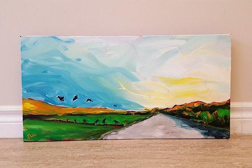 Sunrise over Round Hill by Jaime Lee Lightle