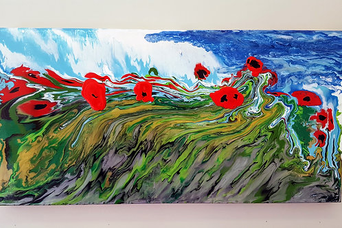 Field of Poppies by James Lightle