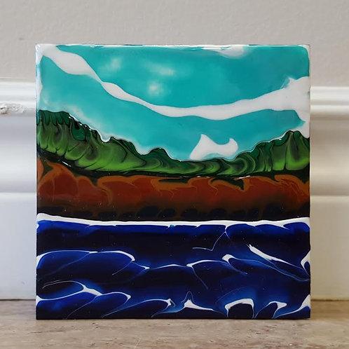 Fundy Shoreline #49 by James C E Lightle