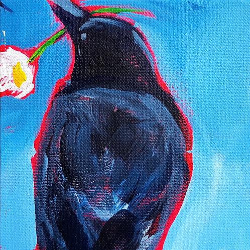 Daisy on Blue 2 by Jaime Lee Lightle