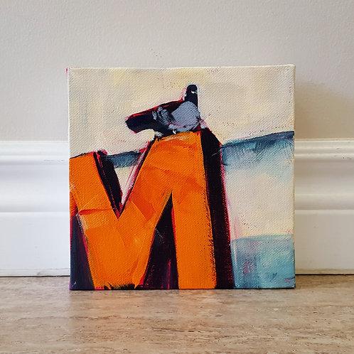 On an 'M' by Jaime Lee Lightle