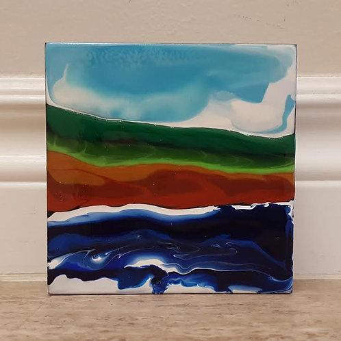 Shoreline #1 by James C E Lightle