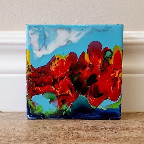 Melange of Reds by James C E Lightle