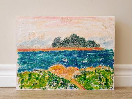"""Violet Rosengarten """"Some Enchanting Islands"""""""