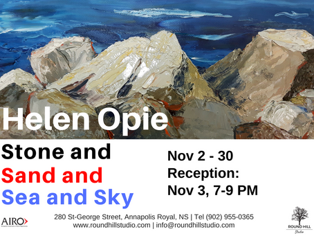 LAST CHANCE to see Helen Opie