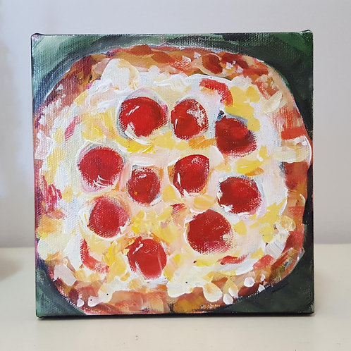 Pepperoni and Cheese  by Jaime Lee Lightle