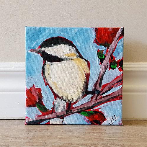 Spring Chickadee by Jaime Lee Lightle