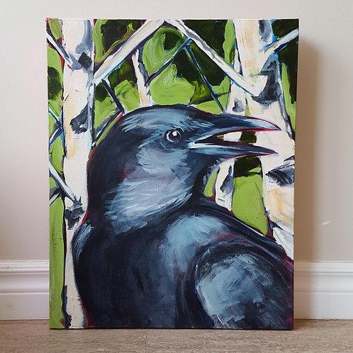 Caw Birch by Jaime Lee Lightle