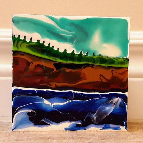 Fundy Shoreline #38 by James C E Lightle