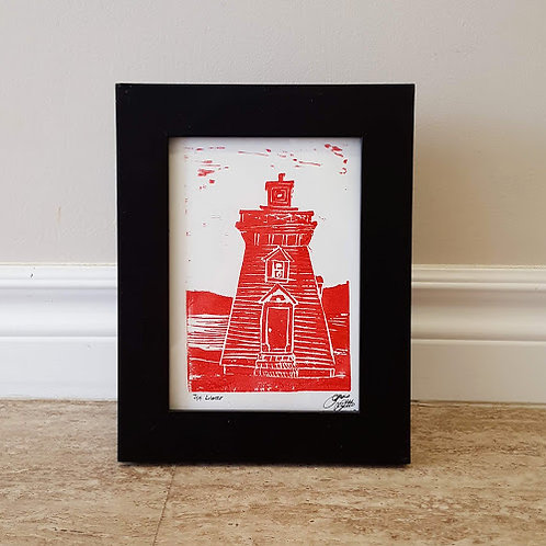 Annapolis Lighthouse by James C E Lightle