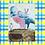 Thumbnail: Recipe/Art card: Quick Devil's Food Cake by Jaime Lee Lightle