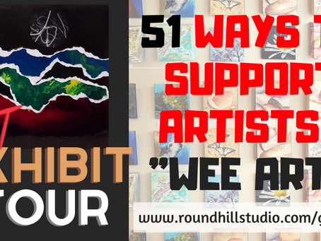 51 Ways to Support Artists