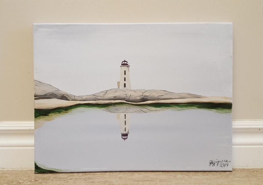 Peggy's Cove Puddle