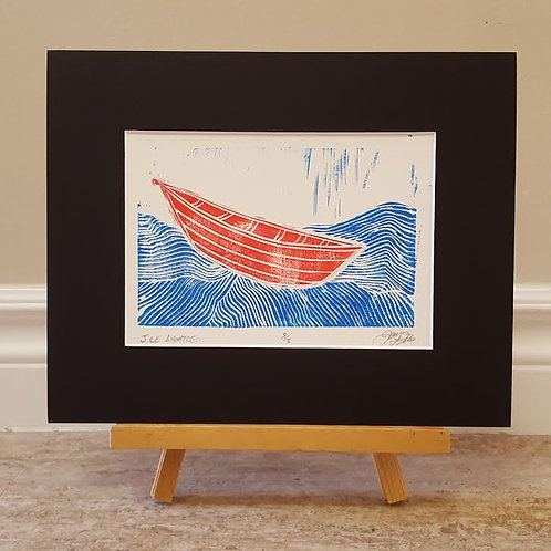 Red Boat, Blue Water by James C E Lightle