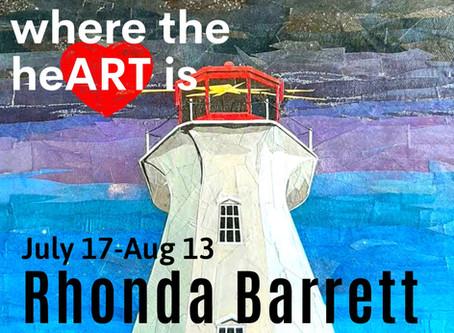 Home: A destination. We welcome Rhonda Barrett!