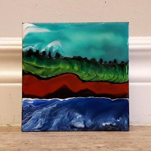 Fundy Shoreline #17 by James C E Lightle