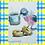 Thumbnail: Recipe/Art card: Easy Donuts by Jaime Lee Lightle