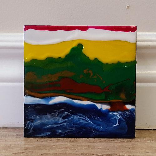 Crimson Sunrise by James C E Lightle