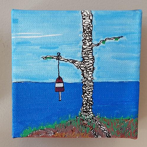 """""""Buoy near water"""" by James C E Lightle"""