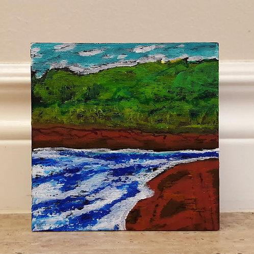 Stroll on Shore 2 by James C E Lightle