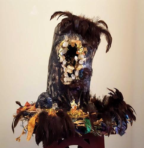 Bird Goddess Sycorax with Vagina...