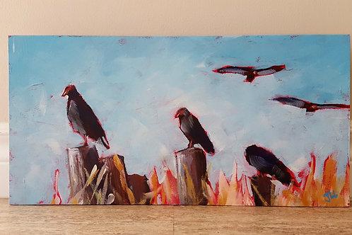 Turkey Vultures by Jaime Lee Lightle
