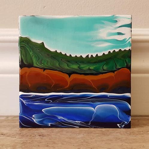 Fundy Shoreline #41 by James C E Lightle
