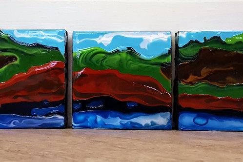 Red Sandy Shore by James C E Lightle