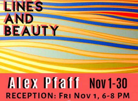 Alex Pfaff - Colours, Lines and Beauty