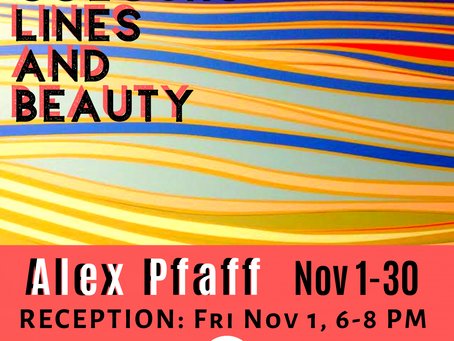 Alex Pfaff - Colours, Lines and Beauty