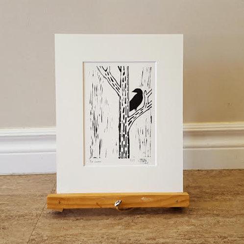 Cormorant on a Tree by James C E Lightle