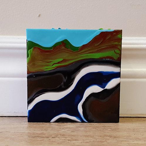 Meandering River by James C E Lightle