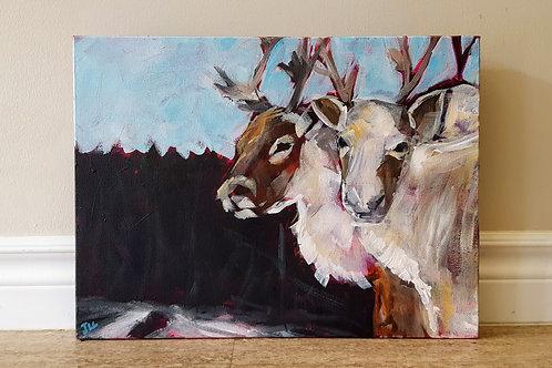 Reindeer by Jaime Lee Lightle