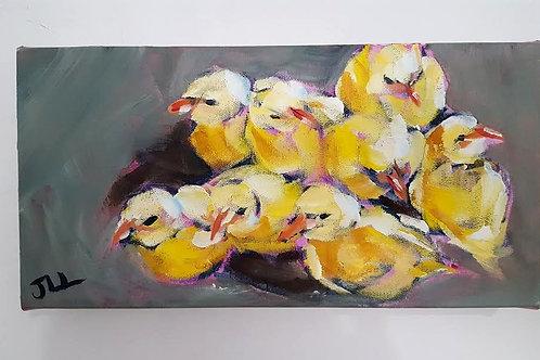 Gathering of Chicks by Jaime Lee Lightle