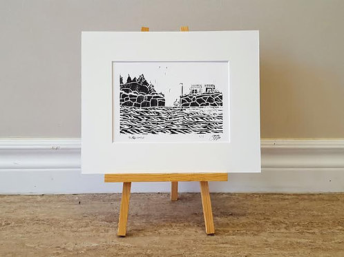 Fishing Village (limited edition) by James C E Lightle
