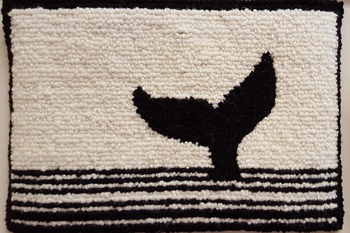 Black Whale Tail by Debbie Doiron