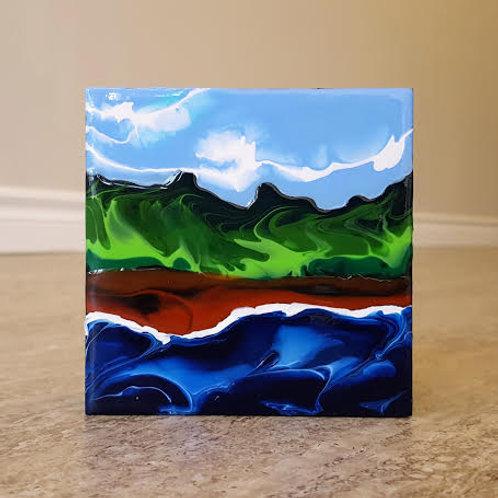 Red Shores 2 by James C E Lightle