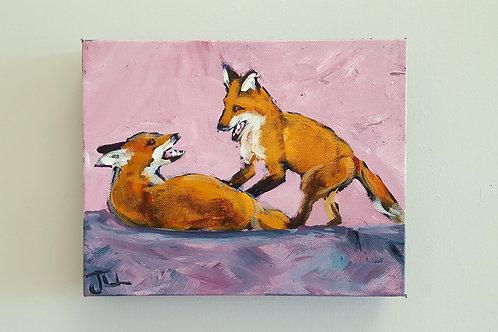 """""""Playful Pair"""" by Jaime Lee Lightle"""