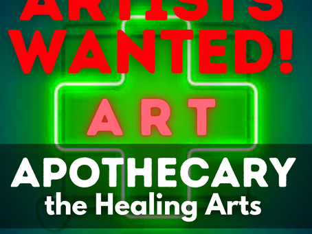 CALL TO ARTISTS: your art prescription