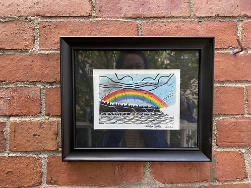 Rainbow over the Shore by Jaime Lee and James C E Lightle