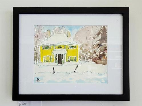 Yellow House by Jaime Lee Lightle