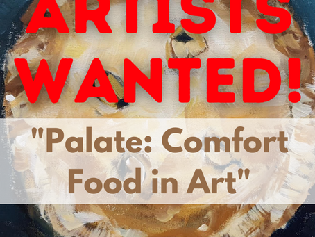 Call to Artists for Comfort Food in Art