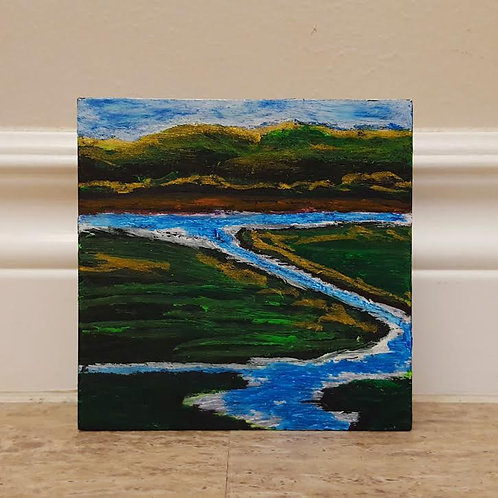 Spring Thaw Round Hill River by James C E Lightle