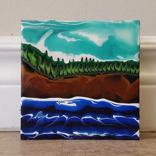 Fundy Shoreline #47 by James C E Lightle