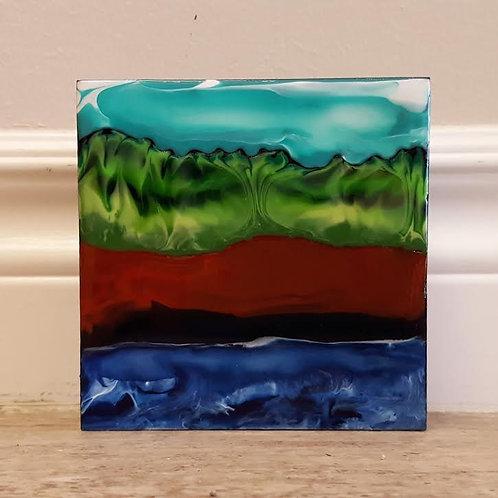Fundy Shoreline #18 by James C E Lightle